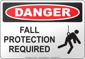 fall protection required